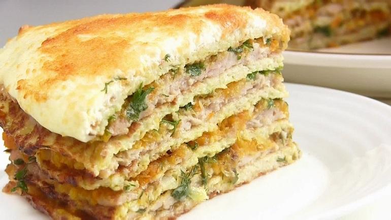 Закусочный капустный торт: покорит своим вкусом