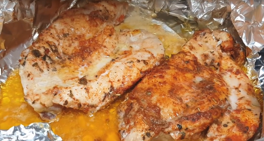 Оригинальное куриное филе (ПП рецепт)