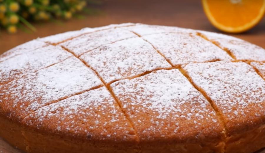 Апельсиновый пирог - проще и вкуснее рецепта не найти