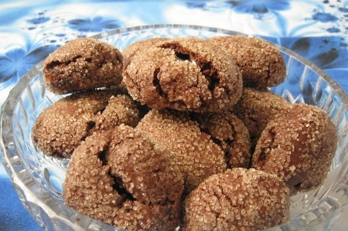 """Шоколадное печенье с зефиром """"Маршмеллоу"""""""