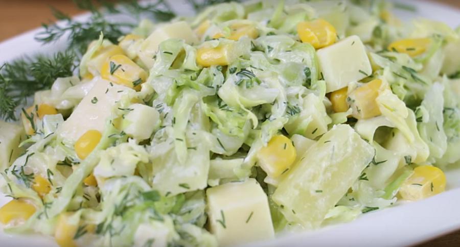 Быстро, просто и вкусно: салат за 5 минут