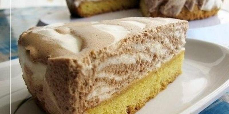 """Торт """"Зебра"""" - простой и очень вкусный"""