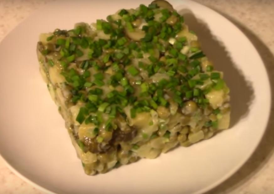Картофельный салат - бюджетно и просто