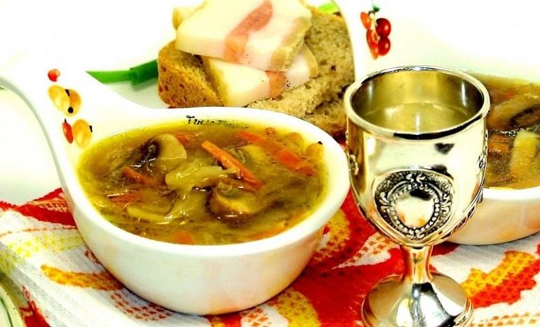 Аппетитные щи «Шаляпинские»: немного необычные, но очень вкусные