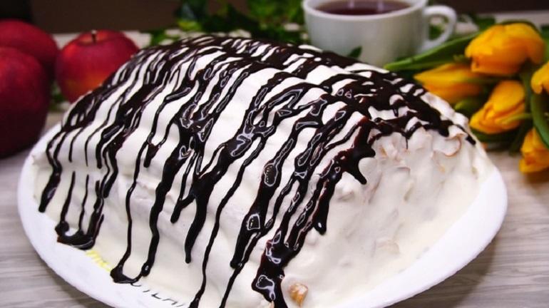 Блинный торт «Шапка Гугуцэ»: настоящее объедение