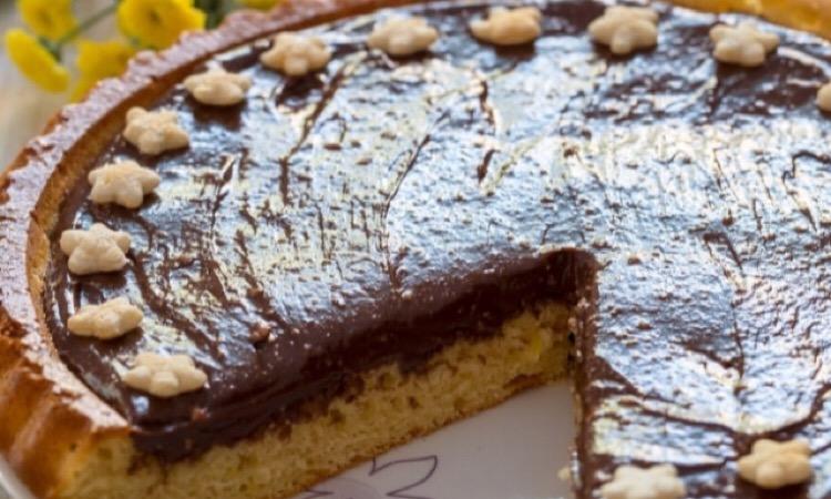 Потрясающе вкусный пирог с нутеллой