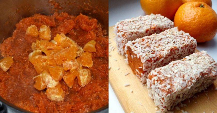 Восточные конфеты из карамелизированной моркови