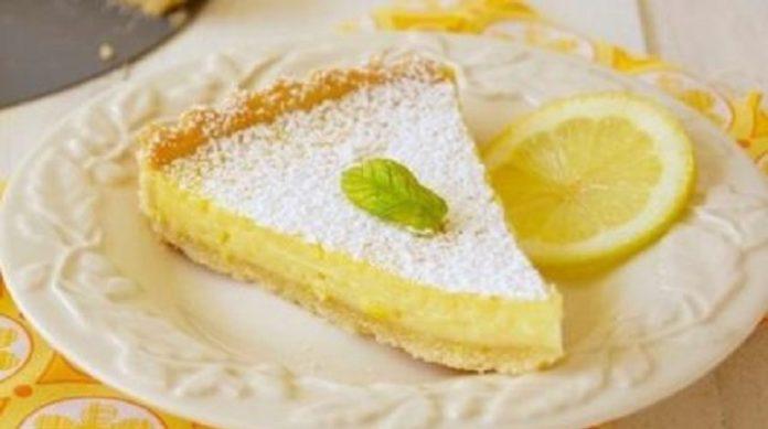 Домашний лимонный пирог: объедение к чаю