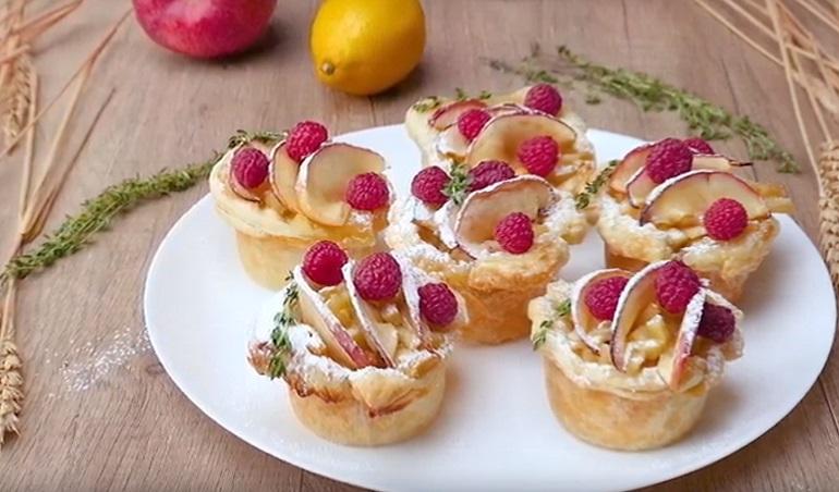 Оригинальные корзиночки с яблоками: вкуснейший десерт для всех