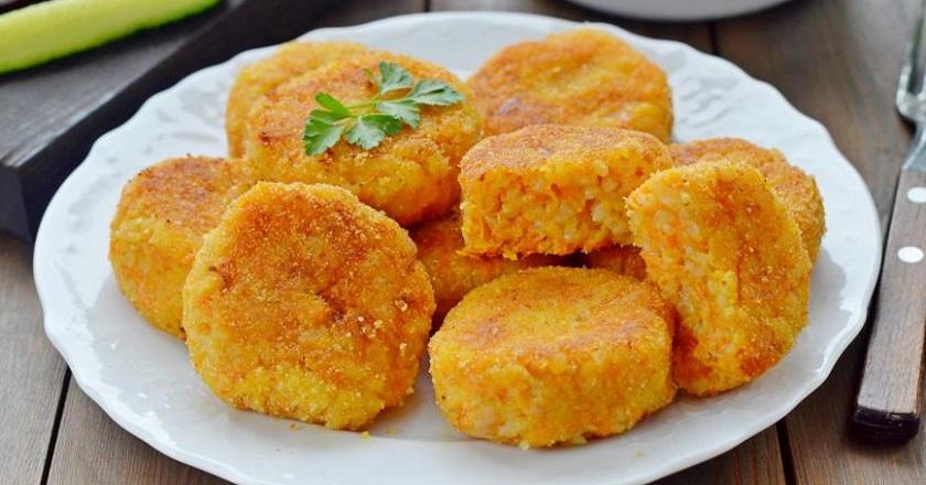 Обалденные морковно-рисовые котлеты