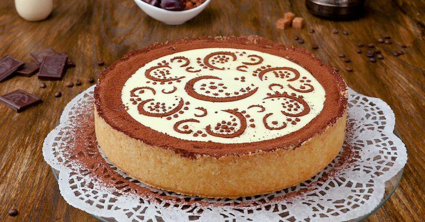 Обалденный творожно-кофейный торт