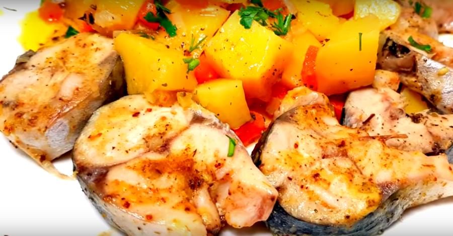 Легкое горячее блюдо из простых продуктов (готовим в мультиварке)