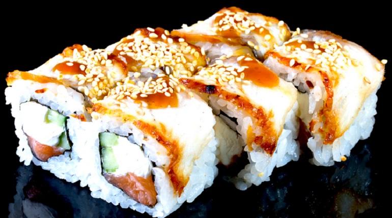 Роллы Канада — японская кухня на канадский манер