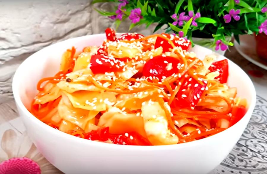 Капуста по-корейски: супер рецепт