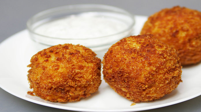 Картофельные шарики с сыром: разнообразят ваше меню