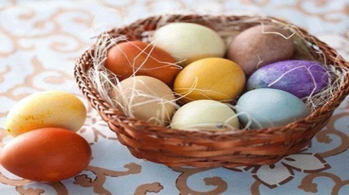 Мраморные яйца: готовимся к Пасхе
