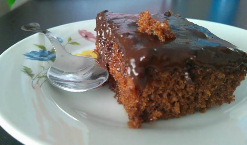 Бесподобный греческий шоколадный пирог