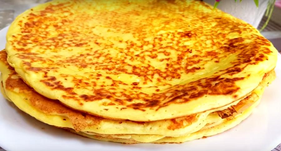 Минутная вкуснота на завтрак, готовится в считанные минуты