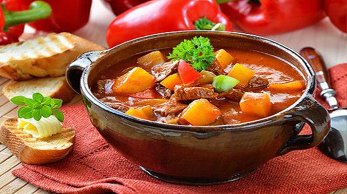 Гуляш по-венгерски: вкусно, просто, быстро