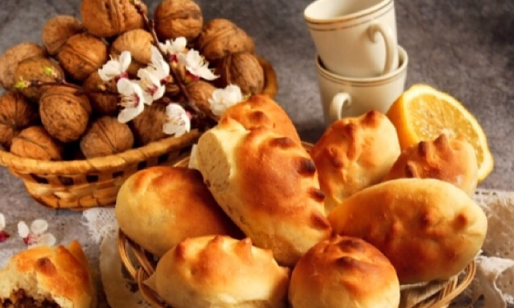 Восхитительно вкусные булочки с орехами