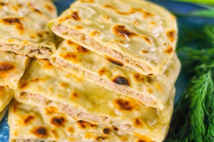 Отменное Дагестанское чуду с мясом на сковороде