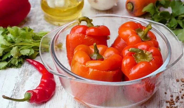 Перец по-турецки в духовке: еще один интересный вариант