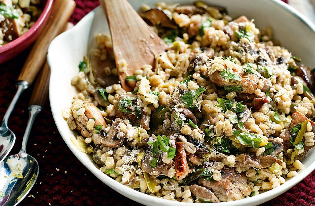 Блюдо, которое поможет сбросить вес: перловка с грибами