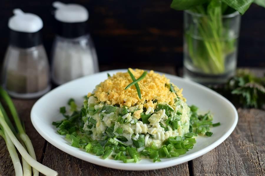 Салат из яиц и черемши: его знают и готовят все