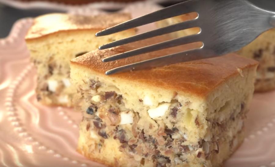 Рыбный пирог - рецепт из СССР