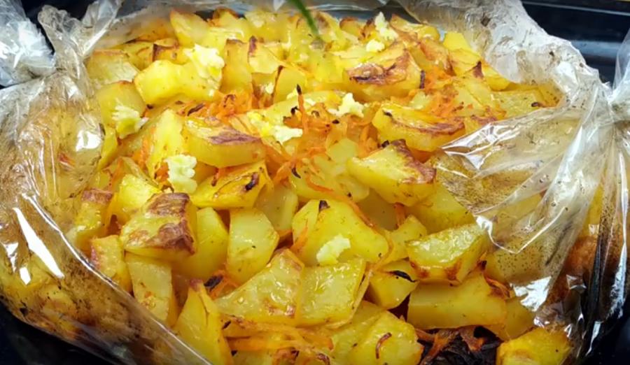 Безумно вкусная картошка в духовке