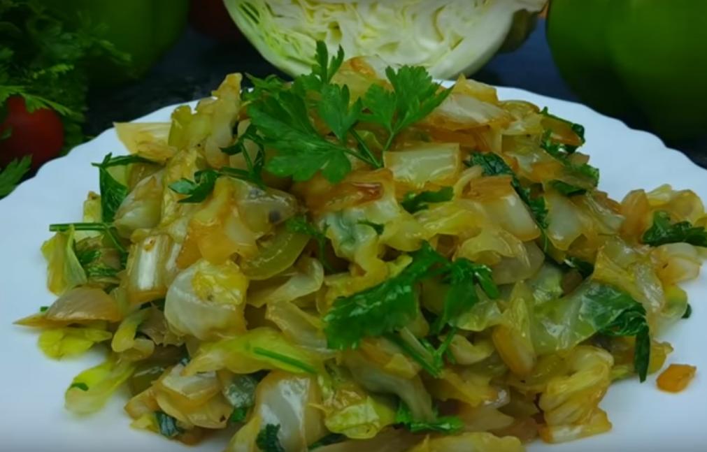 Новый рецепт из молодой капусты