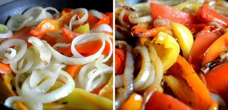 Бесподобный теплый салат из овощей