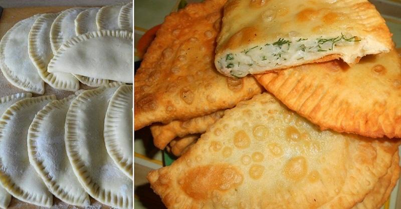 Очень вкусные чебуреки с картошкой и сыром