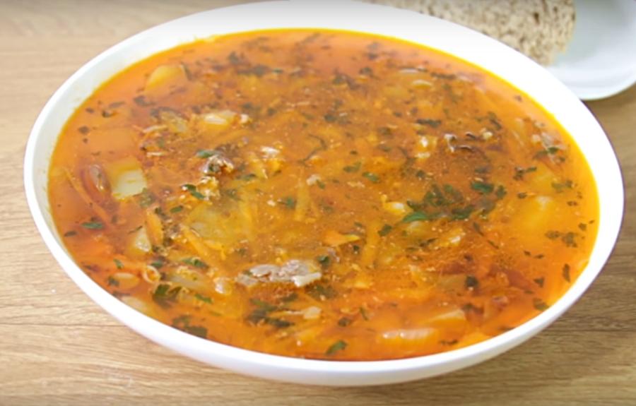 Превосходный суп с фасолью