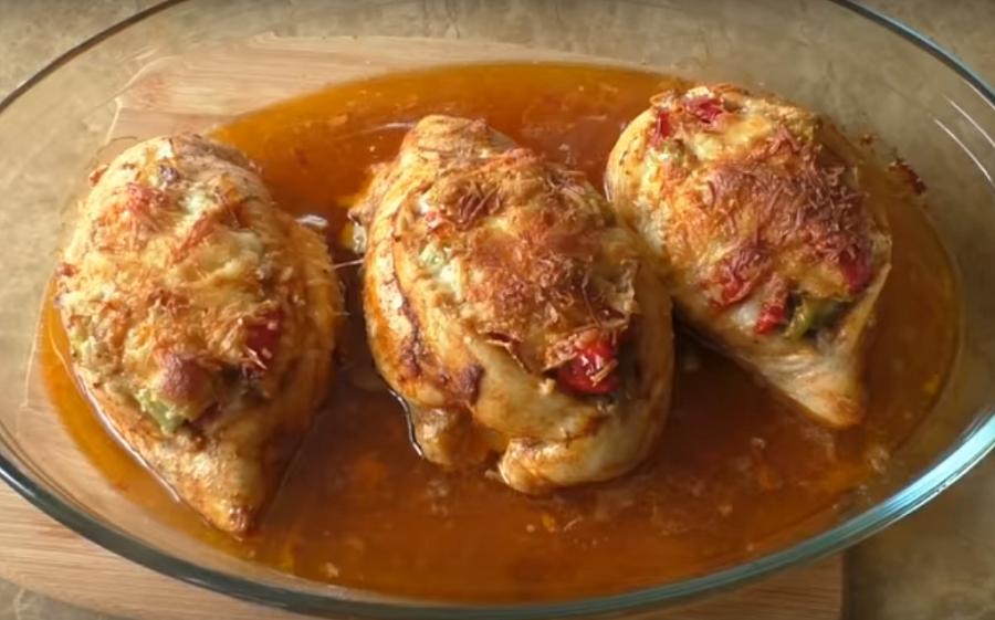 Куриные кармашки: готовим вкусное блюдо к ужину