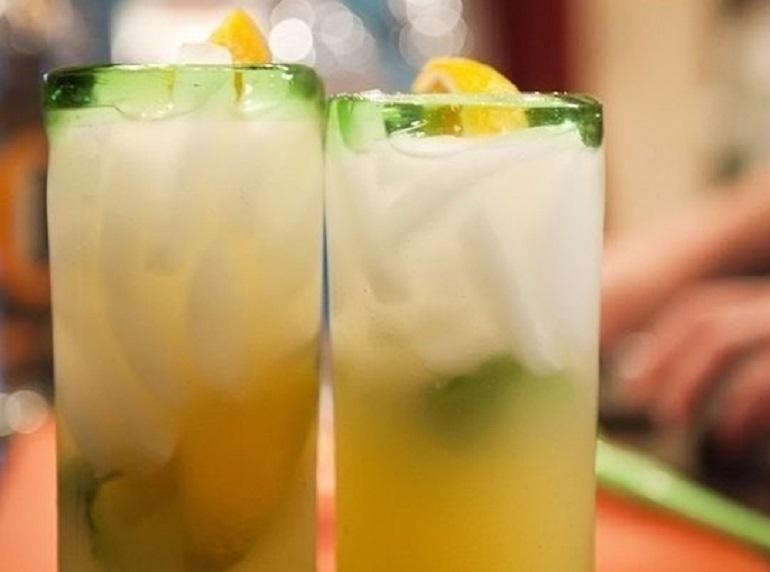 Апельсиновый мохито — освежает, поднимает настроение, делает праздник ярче!!!