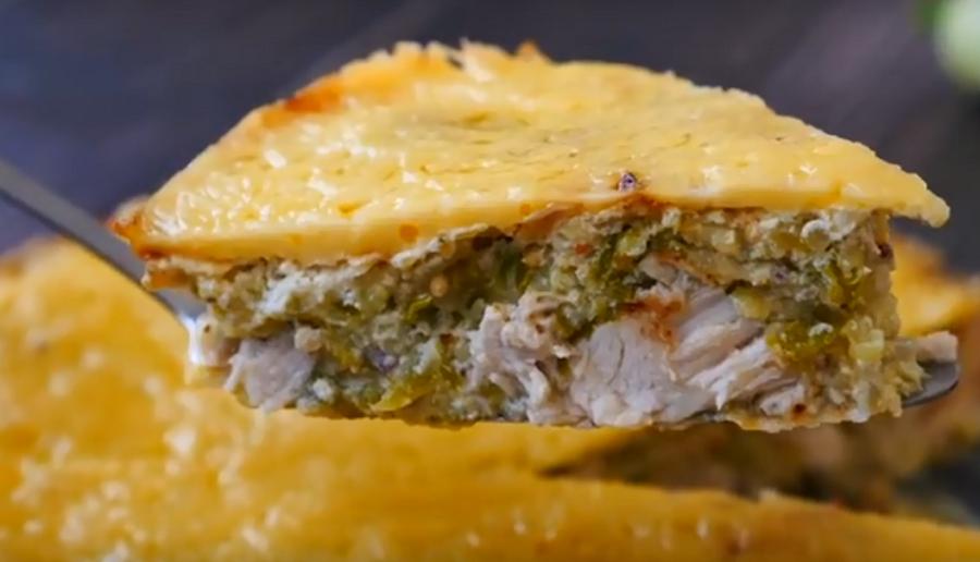 Потрясающе вкусная запеканка из курицы и кабачков