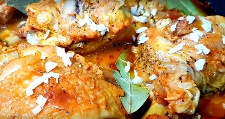 Очень вкусное второе блюдо из курицы