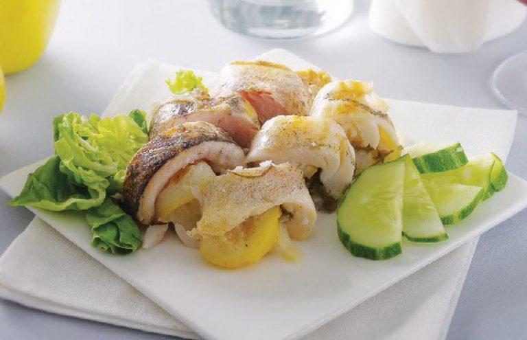 Рулет рыбный с лимоном — нежный, легкий и вкусный!