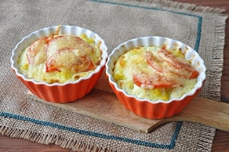 Запеканка с цветной капустой на завтрак: быстро и полезно
