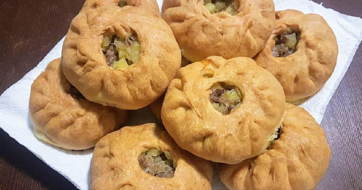 Очень аппетитные татарские пирожки