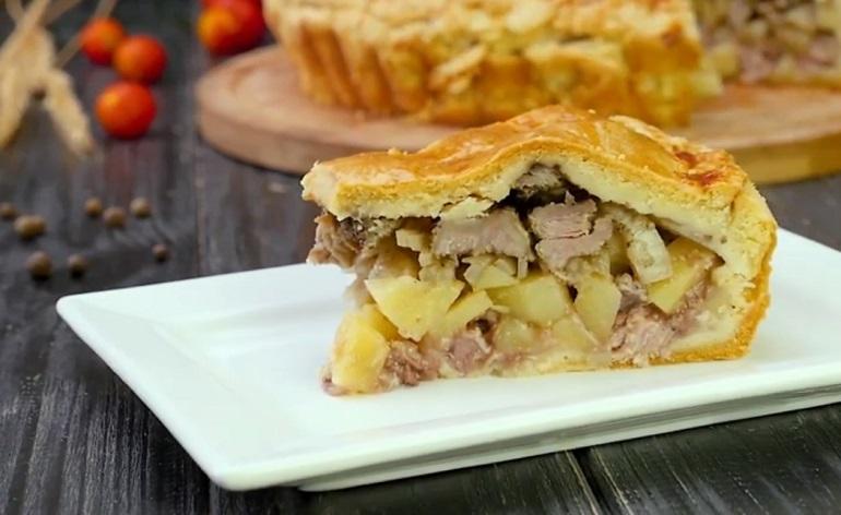 Татарский пирог: ароматная мясная выпечка