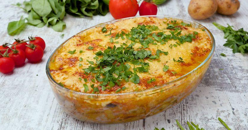 Овощная запеканка с говядиной: выигрышный вариант ужина