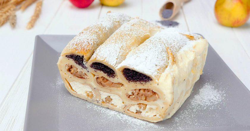 Нежная блинная запеканка: просто чудо десерт