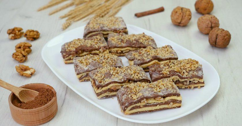 Сливочное печенье с грецкими орехами: взрыв вкуса