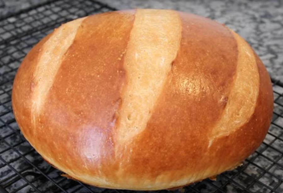 Превосходный хлеб без замеса