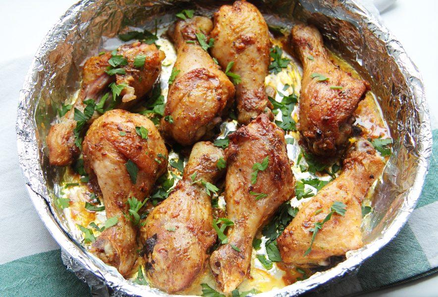 Невероятно вкусные куриные голени