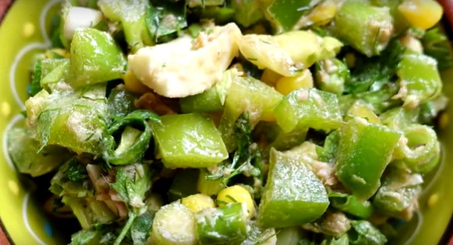 Превосходный летний салатик
