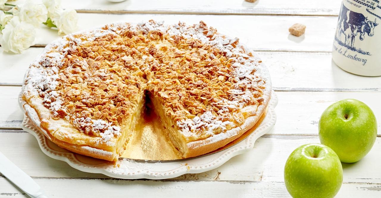 Обалденный десерт - овсяный пирог с яблоками