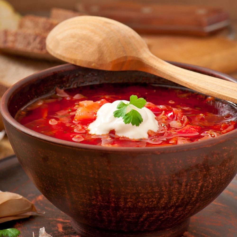 Украинский борщ - семейный рецепт
